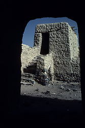 Historic ruins outside of Yanbu, Saudi Arabia.