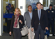 MALLORCA, SPAIN, 2015, JANUARY 11 <br /> <br /> Princess Cristina and her husband IÒaki Urdangarin leave court after trial for fraud. This is the first time a member of Spanish Royal Family has been put on trial. <br /> ©Exclusivepix Media