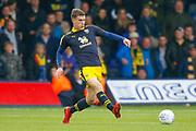 Oxford United midfielder Josh Ruffels (14) passes the ball during the EFL Sky Bet League 1 match between Luton Town and Oxford United at Kenilworth Road, Luton, England on 4 May 2019.