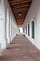 GALERIA DEL MUSEO ARQUEOLOGICO PIO PABLO DIAZ, CACHI, VALLES CALCHAQUIES, PROV. DE SALTA, ARGENTINA