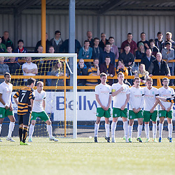 Alloa Athletic 2 v 1 Hibernian, Scottish Championship game 30/8/2014