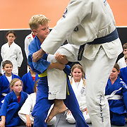 150326 Royce Gracie jiu jitsu  at US Blackbelt Academy