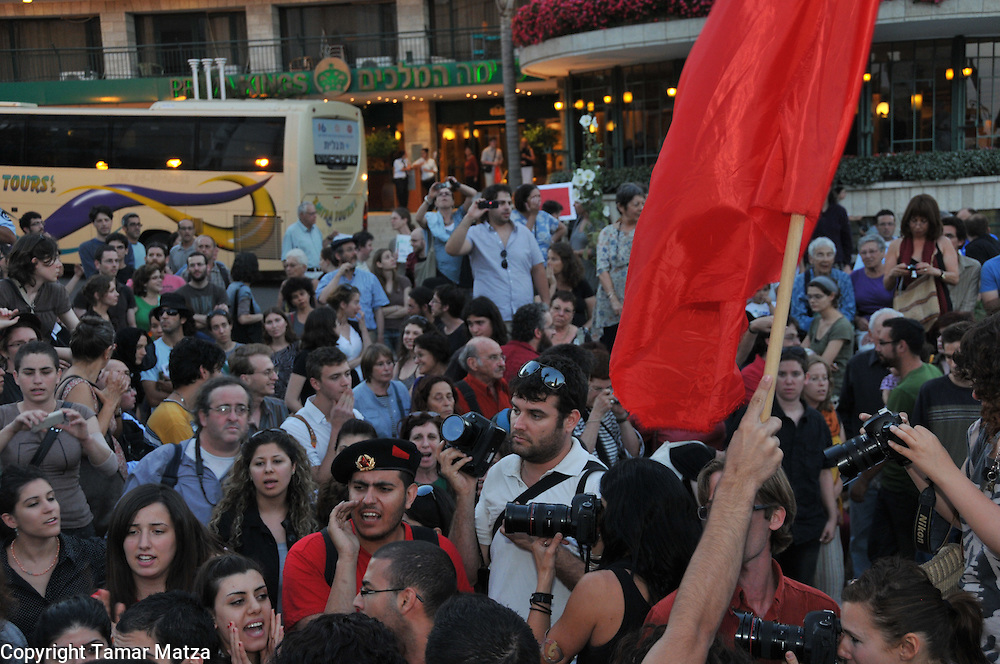 Demonstration in Jerusalem after the Israeli attack on Freedom Flotilla.
