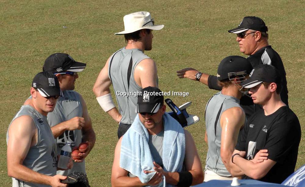 Black Caps. International Cricket. Bangladesh v New Zealand Black Caps 1st Test Match preview, October 2008, Chittagong, Bangladesh. Photo: PHOTOSPORT