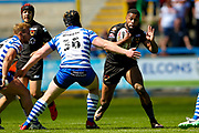 Bradford Bulls second row Colton Roche (11) during the Kingstone Press Championship match between Halifax RLFC and Bradford Bulls at the MBi Shay Stadium, Halifax, United Kingdom on 2 July 2017. Photo by Simon Davies.