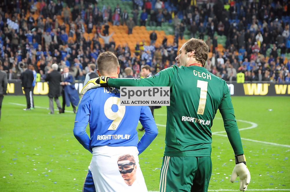 Fernando Torres and Petr Cech. (c) Michael Hulf | StockPix.eu