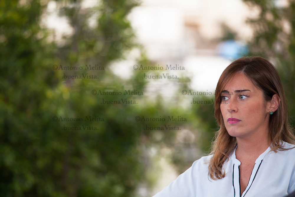 Maria Elena Boschi, Minister for Constitutional Reforms and Relations with the Italian Parliament.