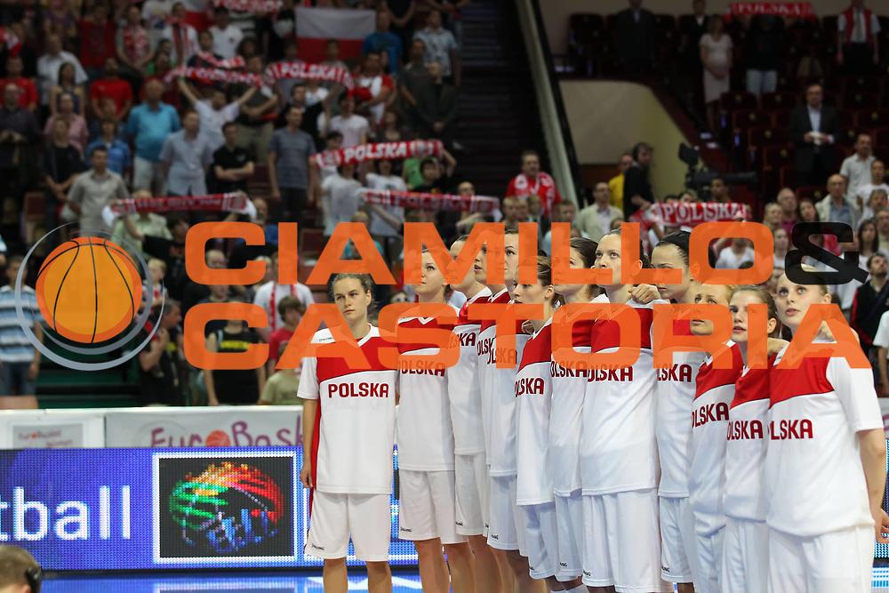 DESCRIZIONE : Katowice Poland Polonia Eurobasket Women 2011 Round 2 Polonia Lettonia Poland Latvia<br /> GIOCATORE : <br /> SQUADRA : Polonia Poland<br /> EVENTO : Eurobasket Women 2011 Campionati Europei Donne 2011<br /> GARA : Polonia Lettonia Poland Latvia<br /> DATA : 22/06/2011<br /> CATEGORIA : <br /> SPORT : Pallacanestro <br /> AUTORE : Agenzia Ciamillo-Castoria/E.Castoria<br /> Galleria : Eurobasket Women 2011<br /> Fotonotizia : Katowice Poland Polonia Eurobasket Women 2011 Round 2 Polonia Lettonia Poland Latvia<br /> Predefinita :