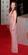 Feb 8, 2015 - EE British Academy Film Awards 2015 - Red Carpet Arrivals at Royal Opera House<br /> <br /> Pictured: Olivia Grant<br /> ©Exclusivepix Media