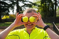 Willie Rennie gets set for tennis | Bridge of Allan | 1 May 2017