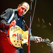 WASHINGTON, DC - November 11th, 2011 - Mike Ness of the Southern Californian punk pioneers Social Distortion open for the Foo Fighters at the Verizon Center in Washington, D.C.   (Photo by Kyle Gustafson/For The Washington Post)