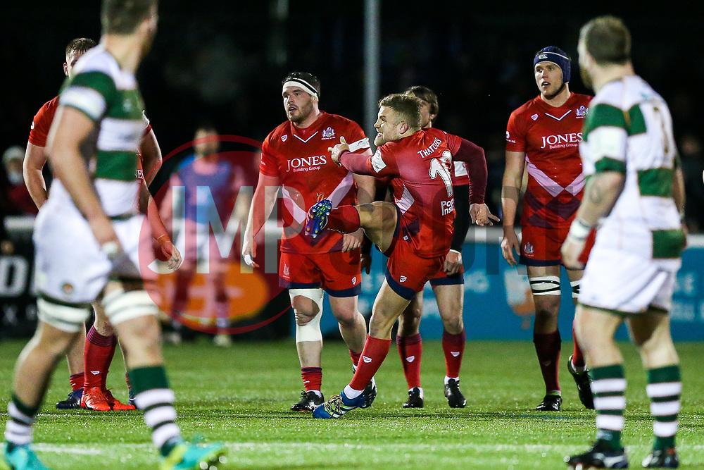 Ian Madigan of Bristol Rugby - Rogan/JMP - 10/02/2018 - RUGBY UNION - Trailfinders Sports Ground - Ealing Trailfinders v Bristol Rugby - Greene King IPA Championship.