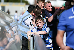 A young Bristol Rovers fan looks on - Mandatory by-line: Arron Gent/JMP - 19/04/2019 - FOOTBALL - Cherry Red Records Stadium - Kingston upon Thames, England - AFC Wimbledon v Bristol Rovers - Sky Bet League One- Mandatory by-line: Arron Gent/JMP - 19/04/2019 - FOOTBALL - Cherry Red Records Stadium - Kingston upon Thames, England - AFC Wimbledon v Bristol Rovers - Sky Bet League One