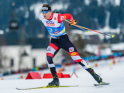 24.02.2019, Seefeld, AUT, FIS Weltmeisterschaften Ski Nordisch, Seefeld 2019, Nordischen Kombination, Teambewerb, Langlauf, im Bild Bernhard Gruber (AUT) // Bernhard Gruber of Austria during the cross country for the team competition Nordic Combined of FIS Nordic Ski World Championships 2019 at the Seefeld, Austria on 2019/02/24. EXPA Pictures © 2019, PhotoCredit: EXPA/ Stefan Adelsberger