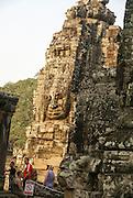 Cambodia, Angkor Thom, Bayon Temple