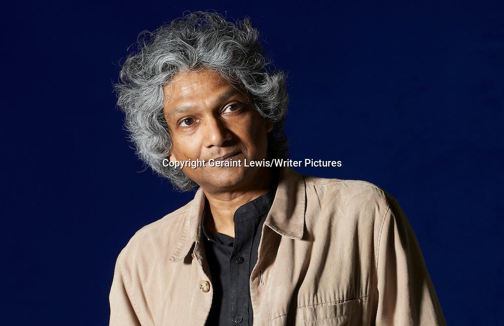Romesh Guneskera, Sri Lankan writer of The Prisoner of Paradise. Pictured at the Edinburgh International Book Festival. Taken 17th August 2012<br /> <br /> Credit Geraint Lewis/Writer Pictures