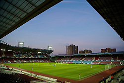 UPTON PARK, ENGLAND - Friday, September 12, 2014: Liverpool take on West Ham United during the Under 21 FA Premier League match under the floodlights at Upton Park. (Pic by David Rawcliffe/Propaganda)