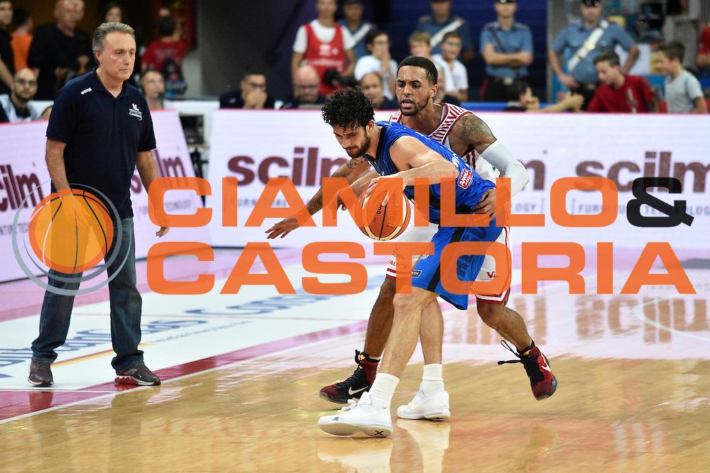 Vitali Luca<br /> Consultinvest Pesaro - Germani Basket Brescia<br /> BASKET Serie A 2016 <br /> Pesaro 02/10/2016 <br /> FOTO CIAMILLO