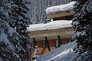 Bugaboos Lodge, Canadian Mountain Holidays heli-skiing & heli-snowboading, British Columbia, Canada