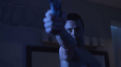 """October 3, 2017 - inconnu - Here is a first look at a movie about Paralympic Games champion Oscar Pistorius and the murder of his girlfriend Reeva Steenkamp.A 60 second trailer shows the athlete shooting his girlfriend through the bathroom door of his home .It also features their violent arguments before her death.Oscar Pistorius: Blade Runner Killer charts the run-up to the murder on Valentine's Day 2013 at his home in Pretoria, South Africa and the courtroom dramas that followed.South African-born actor Andreas Damm as the 30-year-old double-leg amputee and German Victoria's Secret model and actress Toni Garrn ,25, as Steenkamp.The promo shows the athlete holding a pistol and shouting """"get out of my house"""" before firing the weapon twice.In another scene, Pistorius tells his girlfriend she will be his """"personal angel"""" as he trains for the Olympics. In another, he challenges Steenkamp to prove that she is worthy of him before she strips to her underwear and climbs into bed with him.The following scene shows the pair having a row before he picks up a weapon,The trailer ends with Pistorius tearfully telling the court at his subsequent trial: """"I truly loved her"""".The film will premiere in the US on November 11. The trailer is released just days after it was announced that the South African Supreme Court of Appeal will hear the state's appeal against the gold medallist runner's murder sentence.Pistorius was jailed for six years in 2016 for murdering Steenkamp. At the time, the length of his sentence described as lenient by many commentators in the country.The appeal will be heard on November 3. # FILM 'OSCAR PISTORIUS: BLADE RUNNER KILLER' AVEC TONI GARN (Credit Image: © Visual via ZUMA Press)"""