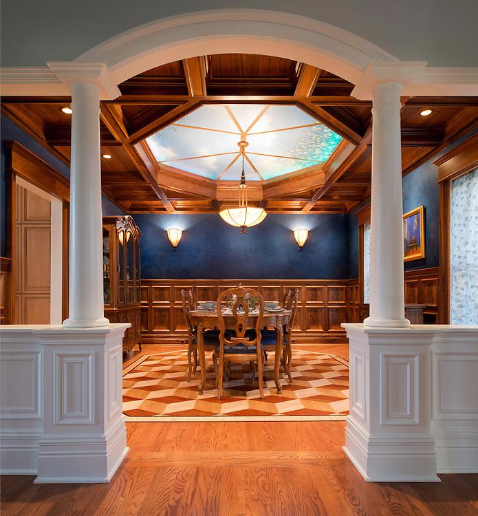 Apr. 9, 2012; Dining Room by Michael Belzowski, Belzowski Homes..Photo by Matt Cashore