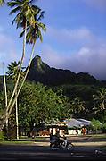 Avarua Town, Rarotonga, Cook Islands<br />