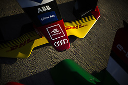 October 17, 2018 - Valencia, Spain - Audi Sport ABT Schaeffler Formula E Team during the Formula E official pre-season test at Circuit Ricardo Tormo in Valencia on October 16, 17, 18 and 19, 2018. (Credit Image: © Xavier Bonilla/NurPhoto via ZUMA Press)