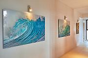 hallway in Sydney house - 2 1.5Mx1M and a 1Mx80cm, all acrylic panels