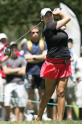 (Canberra, Australia---30 January 2011) Jessica Shepley of Canada playing in the final round of the ActewAgl Royal Canberra Ladies golf tournament as part of the 2011 Australian Ladies Pro Golf Tour./ 2011 Copyright Sean Burges. For Australian editorial sales, contact seanburges@yahoo.com.