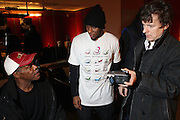 "Danny Glover and MOS DEF and Michele Gondry attend the screening of his new film, ""Be Kind Rewind"" starring Jack Black, Danny Glover and Melanie Diaz at the 2008 Sundance Film Festival."