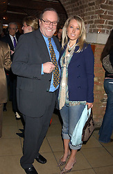 MICHAEL ANCRAM MP and his daughrer LADY CLARE KERR at the annual Parliamentary Palace of Varieties in aid of Macmillan Cancer Relief at St.Johns, Smith Square, London on 2nd February 2006. <br /><br />NON EXCLUSIVE - WORLD RIGHTS