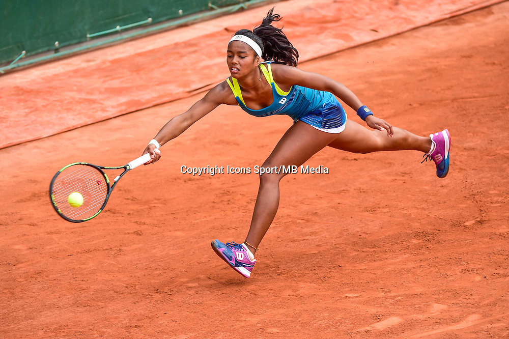 Tessah ANDRIANJAFITRIMO - 02.06.2015 - Jour 10 -Roland Garros 2015<br /> Photo : David Winter / Icon Sport