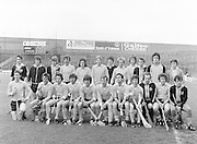 The London team before the All-Ireland Senior B Hurling Championship Antrim v London at Croke Park on the 25th of June 1978. Antrim 1-16 London 3-7.