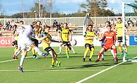 Fotball, NM 2.runde ,  <br /> 24.05.17<br /> Nammo Stadion<br /> Raufoss v Sogndal  0-2<br /> Foto : Dagfinn Limoseth , Digitalsport<br /> <br /> Eirik Birkeland , Sogndal skyter