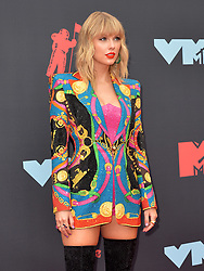 August 26, 2019, New York, New York, United States: Taylor Swift arriving at the 2019 MTV Video Music Awards at the Prudential Center on August 26, 2019 in Newark, New Jersey  (Credit Image: © Kristin Callahan/Ace Pictures via ZUMA Press)