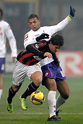 AC Milan's Brazilian forward Pato in action during his team's Italian Serie A match against Fiorentina on January 17, 2009 at San Siro Stadium in Milan. AC Milan defeated Fiorentina 1-0.