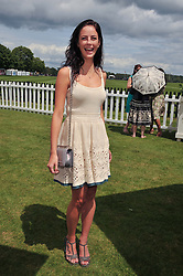 KAYA SCODELARIO at the Cartier Queen's Cup Polo Final, Guards Polo Club, Windsor Great Park, Berkshire, on 17th June 2012.