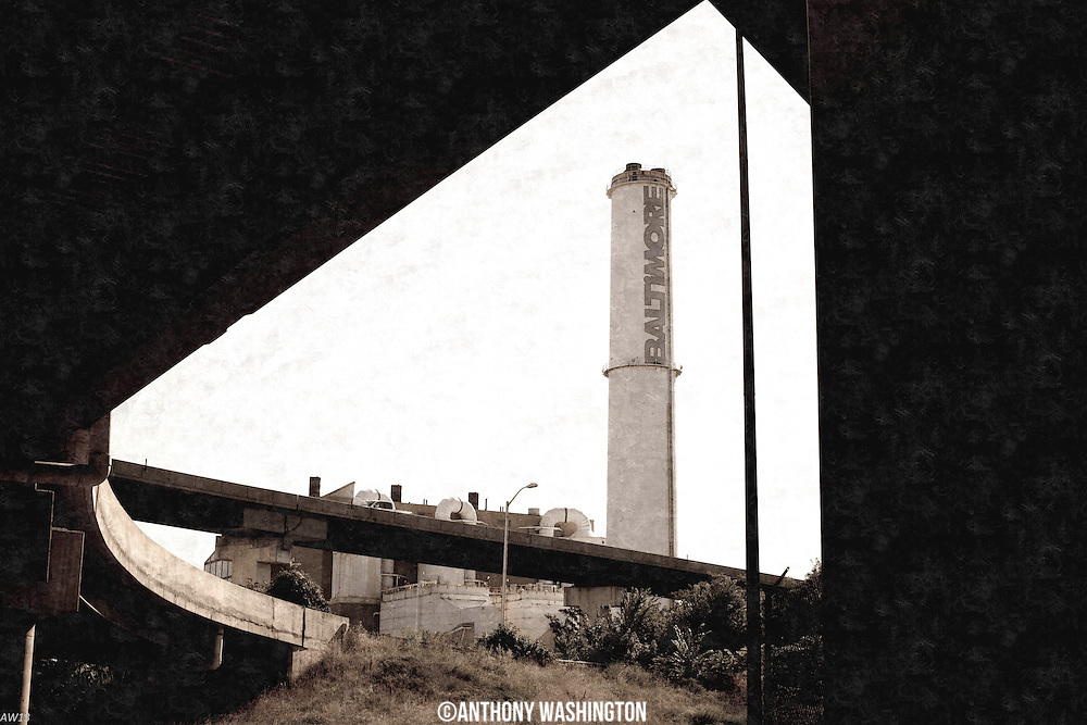 Baltimore Smokestack by Anthony Washington