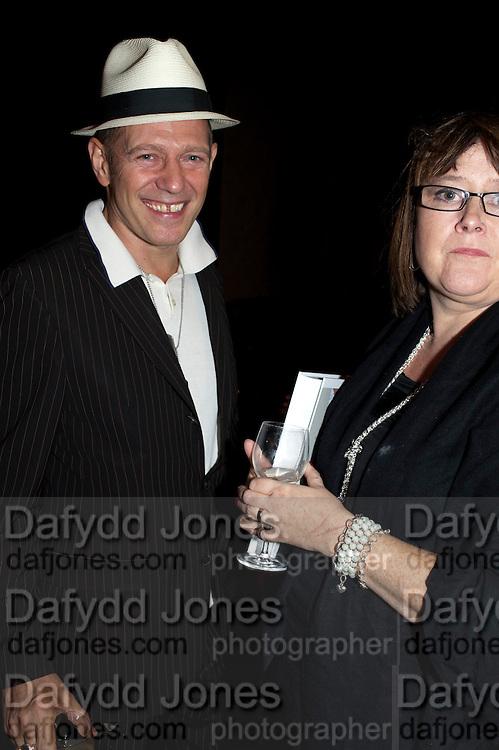 PAUL SIMONON, Giogio Locatelli's book launch. Loconda. Portman Sq. London. 4 October 2011. <br /> <br />  , -DO NOT ARCHIVE-&copy; Copyright Photograph by Dafydd Jones. 248 Clapham Rd. London SW9 0PZ. Tel 0207 820 0771. www.dafjones.com.