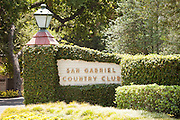 San Gabriel Country Club Entrance