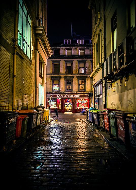 Renfield lane, Glasgow city