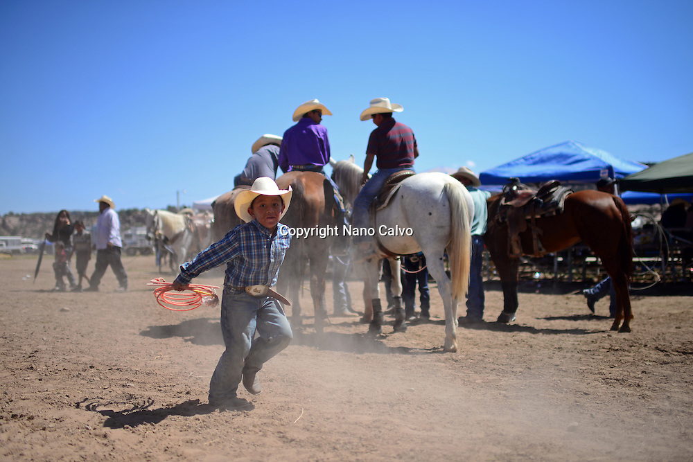 Navajo Nation Fair, a world-renowned event that showcases Navajo Agriculture, Fine Arts and Crafts, with the promotion and preservation of the Navajo heritage by providing cultural entertainment. Window Rock, Arizona.