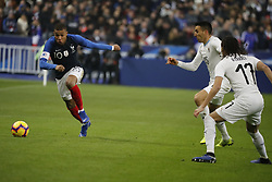 France's Kylian Mbappe during France v Uruguay friendly football match at the Stade de France in Saint-Denis, suburb of Paris, France on November 20, 2018. France won 1-0. Photo by Henri Szwarc/ABACAPRESS.COM