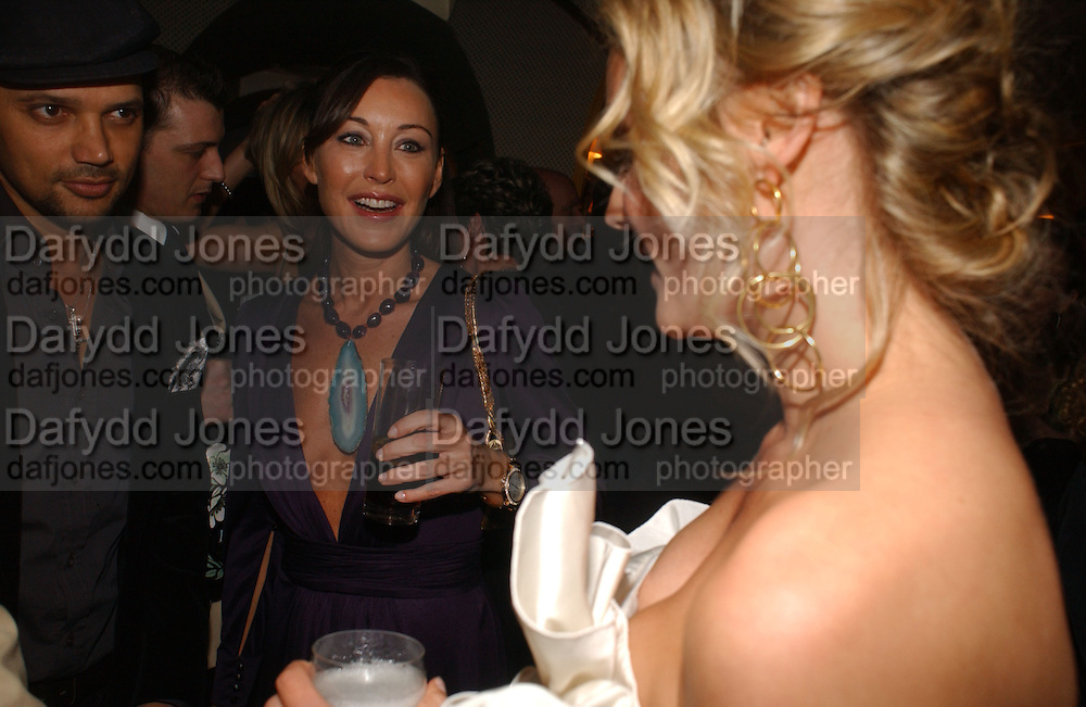 tamara Mellon and Diane Kruger. charles Finch and Chanel 6th Anniversary Pre-Bafta party to celebratew A Great Year of Film and Fashion Beyond the Red Carpet at Annabel's. Berkeley Sq. London W1. 18 February 2006. ONE TIME USE ONLY - DO NOT ARCHIVE  © Copyright Photograph by Dafydd Jones 66 Stockwell Park Rd. London SW9 0DA Tel 020 7733 0108 www.dafjones.com