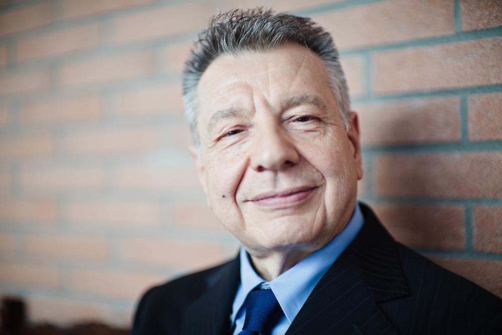 28 JUN 2011 - Zola Predosa (Bologna) - Claudio Levorato,<br /> presidente del Consiglio di Gestione di Manutencoop Facility Management