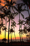 Sunset, Kapalua, Maui, Hawaii, USA<br />