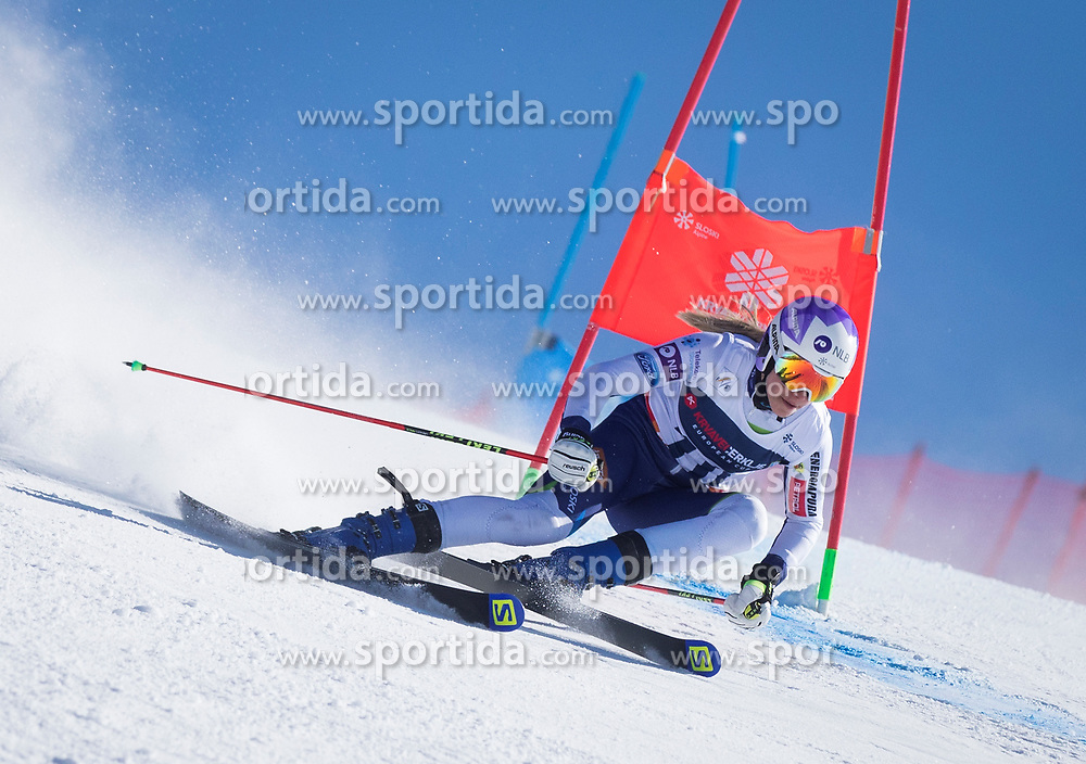 during the giant slalom for European Cup on 27.2.2020 on Krvavec, Cerklje na Gorenjskem, Slovenia. Photo by Urban Meglič / Sportida