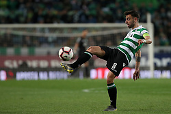 February 3, 2019 - Lisbon, Portugal - Sporting's midfielder Bruno Fernandes from Portugal in action during the Portuguese League football match Sporting CP vs SL Benfica at Alvalade stadium in Lisbon, Portugal on February 3, 2019. (Credit Image: © Pedro Fiuza/ZUMA Wire)