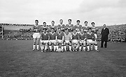 Group photograph of the Senior Meath team at the All Ireland Senior Gaelic Football Final Cork v. Meath in Croke Park on the 24th September 1967. Meath 1-9 Cork 0-9.<br />