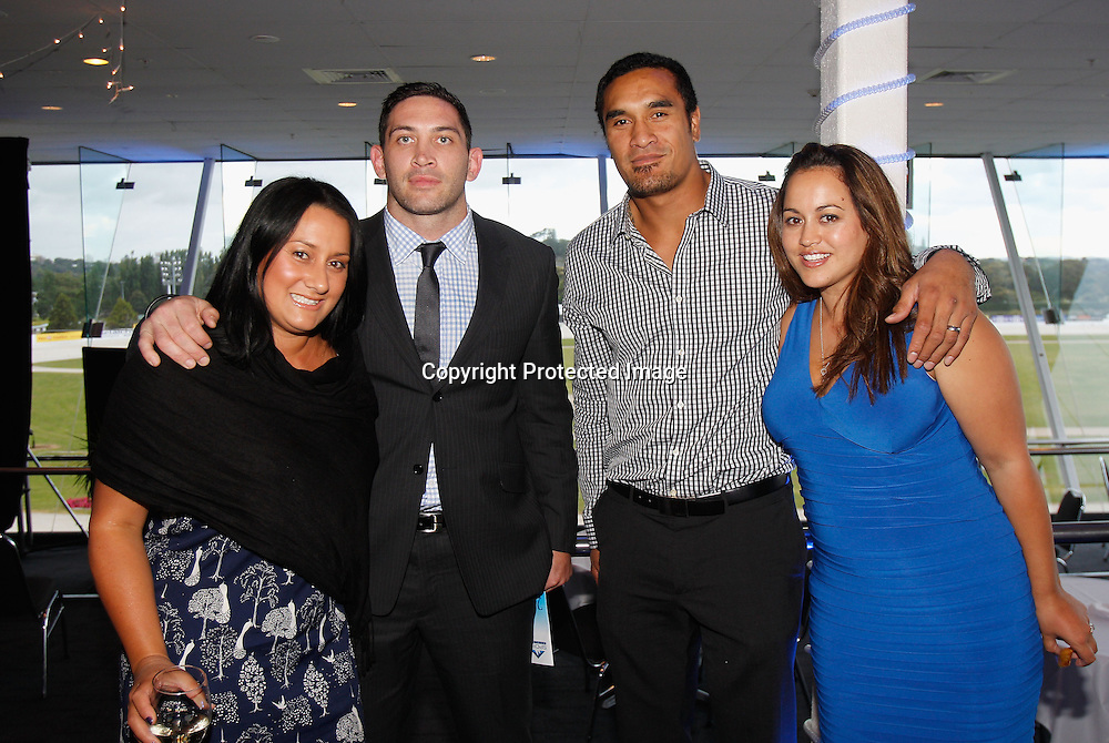 Jerome Kaino at the Sport Auckland 2011 Sporting Excellence Awards, Alexandra Race Course, Auckland, New Zealand. Wednesday 7 December 2011. Photo: Shane Wenzlick / photosport.co.nz